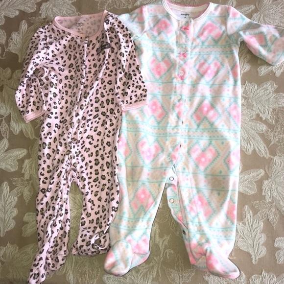 4cd5f7ad6743d Carter's Pajamas | 2 For 12 Pajama Bundle6 Months | Poshmark